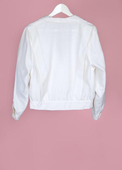 Veste courte blanche