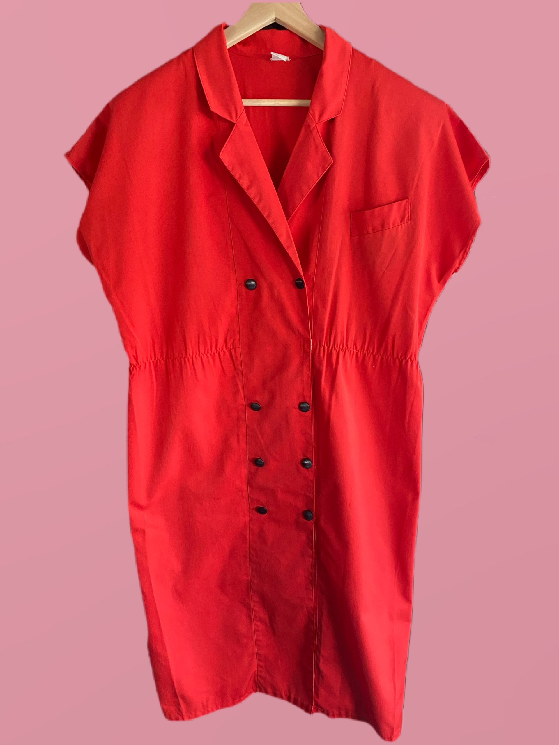Robe rouge T.46